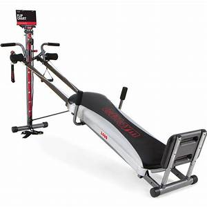 Total Gym 1400 Deluxe Home Fitness Exercise Machine ...