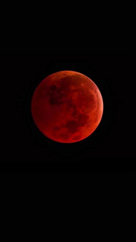 Black Wallpaper Iphone Moon by Blood Moon Iphone Wallpaper Iphonewallpapers Blood