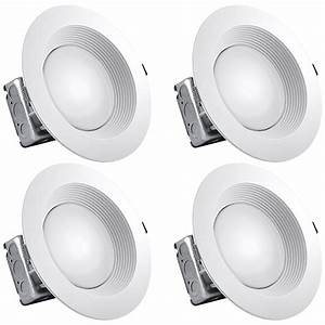 Luxrite 8 Inch Led Recessed Lighting Kit With Junction Box  25w  3000k Soft White  Dimmable Led