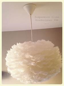 Suspension Luminaire Plume : suspension plume ~ Teatrodelosmanantiales.com Idées de Décoration