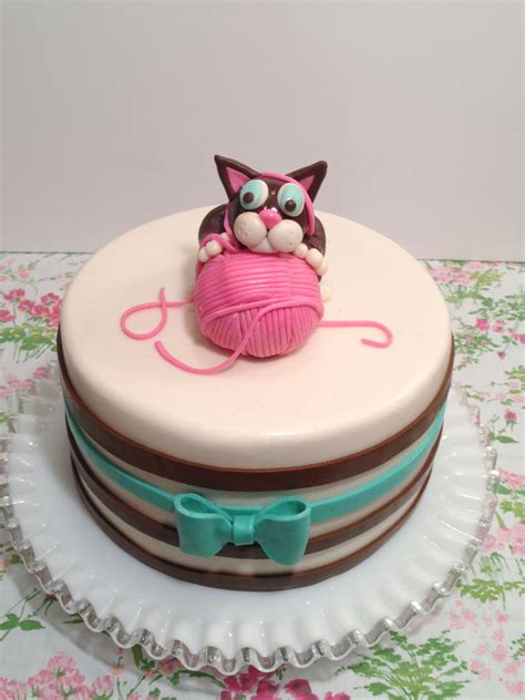 We recently celebrated our kitty's first birthday! Simple Birthday Cakes | Joy Studio Design Gallery - Best Design