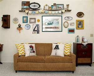Vintage style gallery wall for Vintage wall decor