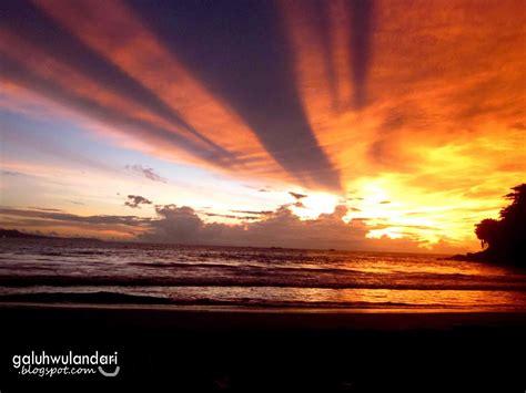 pantai  indonesia  pemandangan sunset