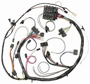 M U0026h Dash  Instrument Panel Harness  Round