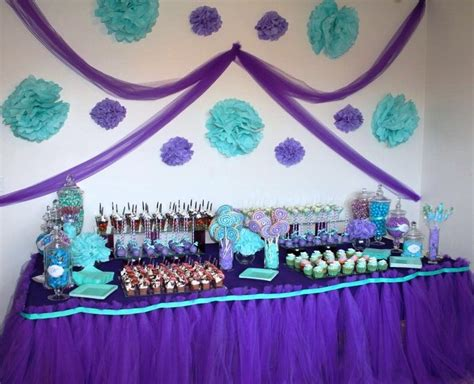 Purple And Teal Baby Shower Decorations by Purple And Teal Teal Baby Showers Turquoise