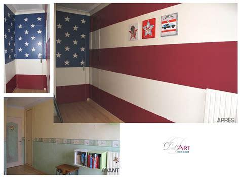 deco chambre etats unis déco chambre drapeau