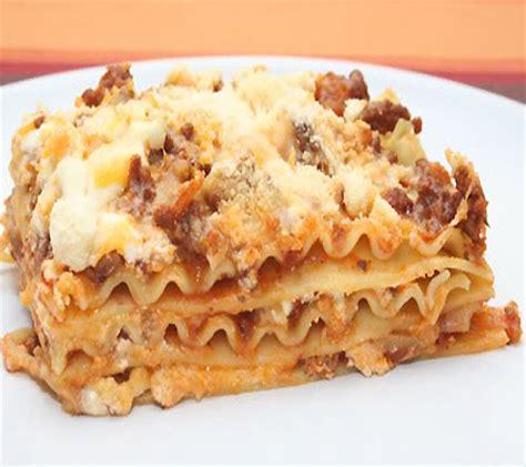 Easy Lasagna Ii Recipes