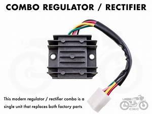Honda Rectifier    Regulator Cb350    Cb360    Cb450    Cb500t
