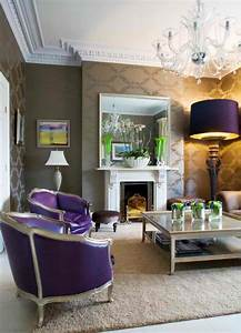 20 Purple Living Rooms