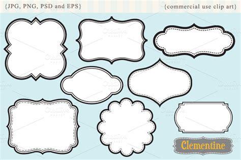 labels  illustrations  creative market