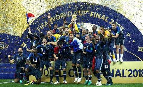 France Win Fifa World Cup Croatia Hearts Dream