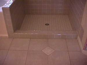 tile shower start to finish how to not build a mud With retile bathroom floor