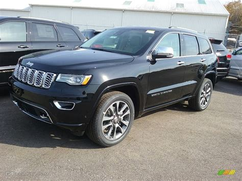 2017 Grand Overland by 2017 Black Pearl Jeep Grand