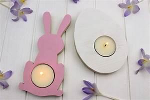 Sachen Selber Machen : diy teelichthalter aus holz zu ostern einfach selber machen osterdeko ~ Watch28wear.com Haus und Dekorationen