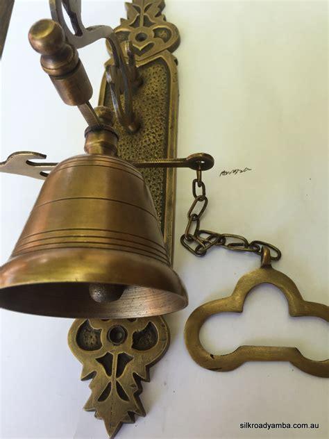 bell front door heavy vintage style  size antique