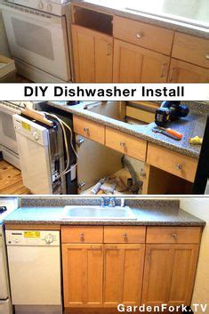installing used kitchen cabinets installing dishwasher in existing cabinets diy for the 4762