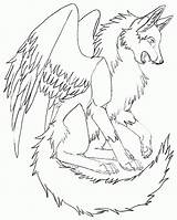 Coloring Wolves Wings Wolf Winged Cool Realistic Bird Key Heart Getcolorings Printable Animal Sheets Cats Female Popular Twilight Coloringhome Getdrawings sketch template