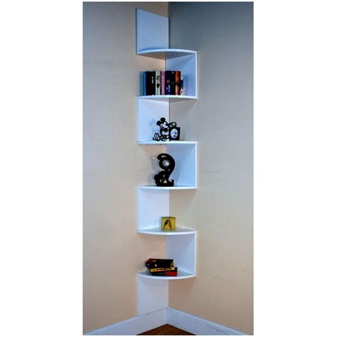 Corner Shelf Unit by How To Utilize Space Efficently With A Corner Shelf Unit