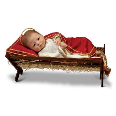 doll jesus  saviour  born baby jesus  wooden