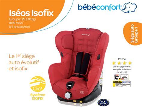 siege auto isofix bebe confort bebe confort siège auto iséos isofix gr 1 achat vente