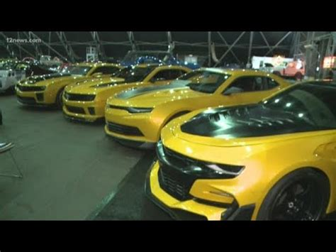 transformers bumblebee cars  sale  barrett jackson