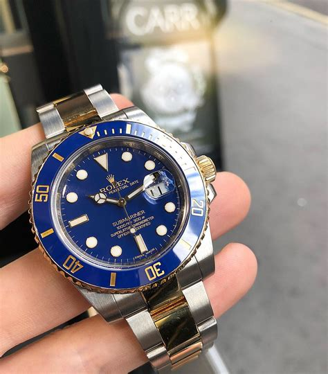 Rolex 116613 Submariner Steel & Gold Ceramic bezel - Carr ...