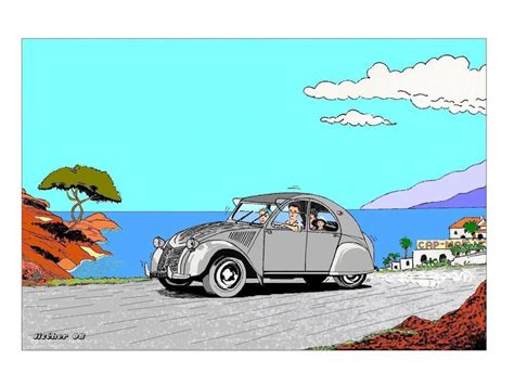 chambre a air camion 2cv bonheur dessin numérique de jcr photo de