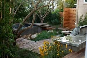 Salon Exterieur Pas Cher : jaccuzzi ext rieur le bien tre au jardin ou sur la terrasse ~ Dailycaller-alerts.com Idées de Décoration