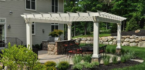 landscaping with pergolas backyard landscape sparta nj clc landscape design