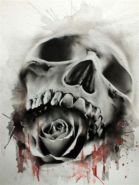 rose skulls