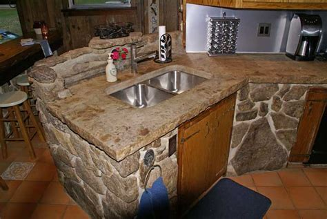 Kitchen Concrete Countertop   Concrete Countertops Design
