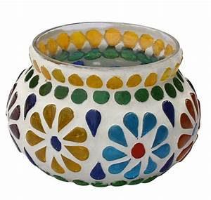heartfelt gratitude glass mosaic tea light candle With kitchen cabinets lowes with wholesale tealight candle holders