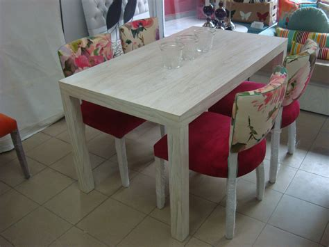 comedor compuesto por mesa comedor modelo dl en madera de