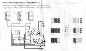 Jimmy Page Lp Custom Wiring Diagram
