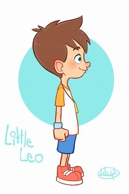 Turn Around Leo Character Luigil Cartoon Boy