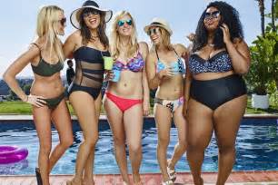 Bathing Suits Pear Shapes Photo