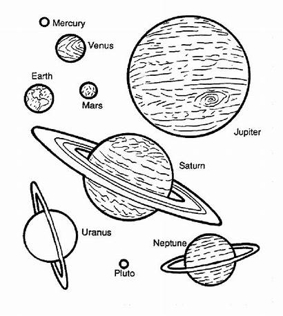 Space Coloring Pages Children