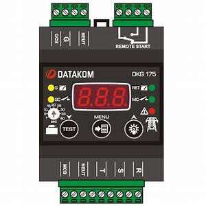 Datakom Dkg Mains Automatic Transfer Switch Controller  Ats   230  400 Vac  Din