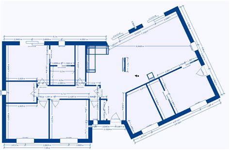 plan de maison 2 chambres plan de maison plain pied 2 chambres