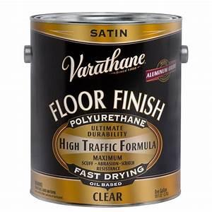 Varathane 1 gal Floor Finish Clear Satin Oil-Based
