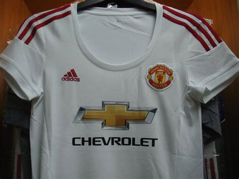 ADIDAS Manchester United Away WOMEN 2015-16 with FA CUP ...