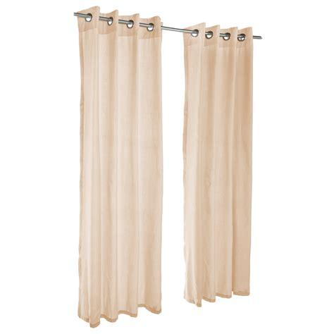 sheer honey grommet sunbrella outdoor curtains