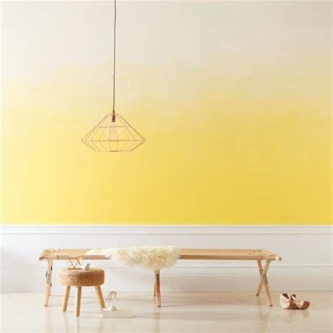 Wand Gelb Streichen by How To Paint An Ombre Wall Paint Inspiration Valspar