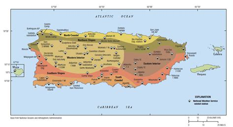 climatic subdivisions  puerto rico  outlying islands