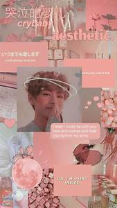 collage wallpaper v pink collage aesthetic wallpapers bts
