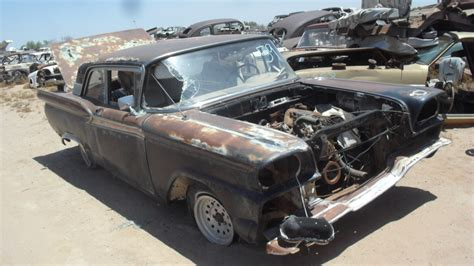 Ford Fairlane Parts by 1959 Ford Fairlane 59fo4148c Desert Valley Auto Parts