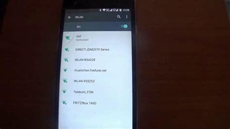statische ip adresse bei wlan einstellen mit handy