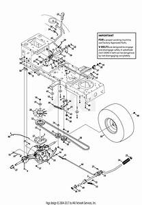 Troy Bilt 13wx79kt011 Horse  2013  Parts Diagram For Transmission