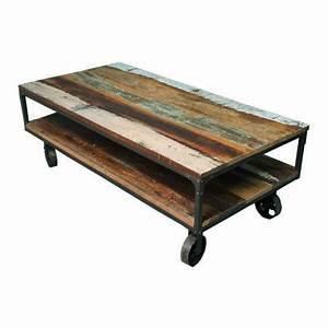 Table Sur Roulettes : roulettes table basse maison design ~ Teatrodelosmanantiales.com Idées de Décoration