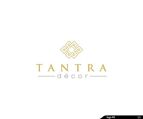bold personable business logo design for tantra d 233 cor